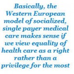 equality of healthcare