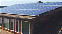 solar installation on residential property