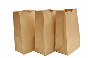 paper shopping bags can be used for garbage disposal