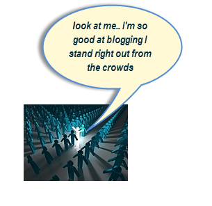 The ultimate goal of becoming an expert is to get exposure and build targeted traffic to your blog