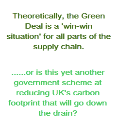 the green deal is a govt initiative that looks set to fail