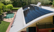 thin film solar panels take up more space the photovoltic solar panels