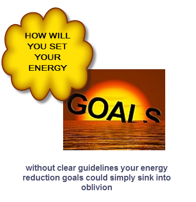 setting your business energy reduction goals HOW will you do it?