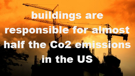 building in the US responsible for almost half of the co2 emissions