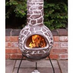 Cantera Mexican Chiminea