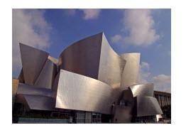 The Walt Disney Concert Hall Los Angeles USA